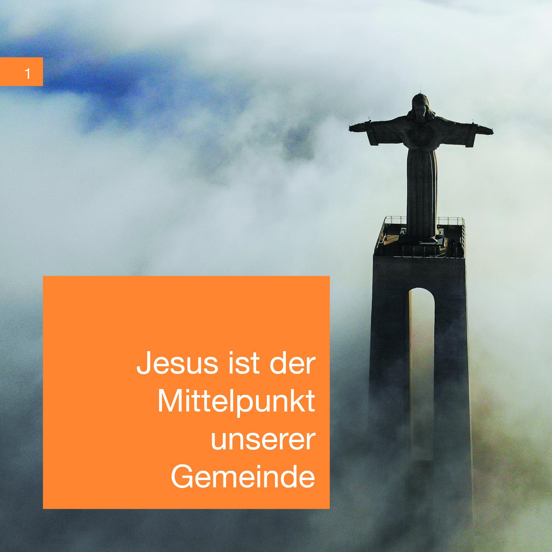 Jesus ist der Mittelpunkt unserer Gemeinde